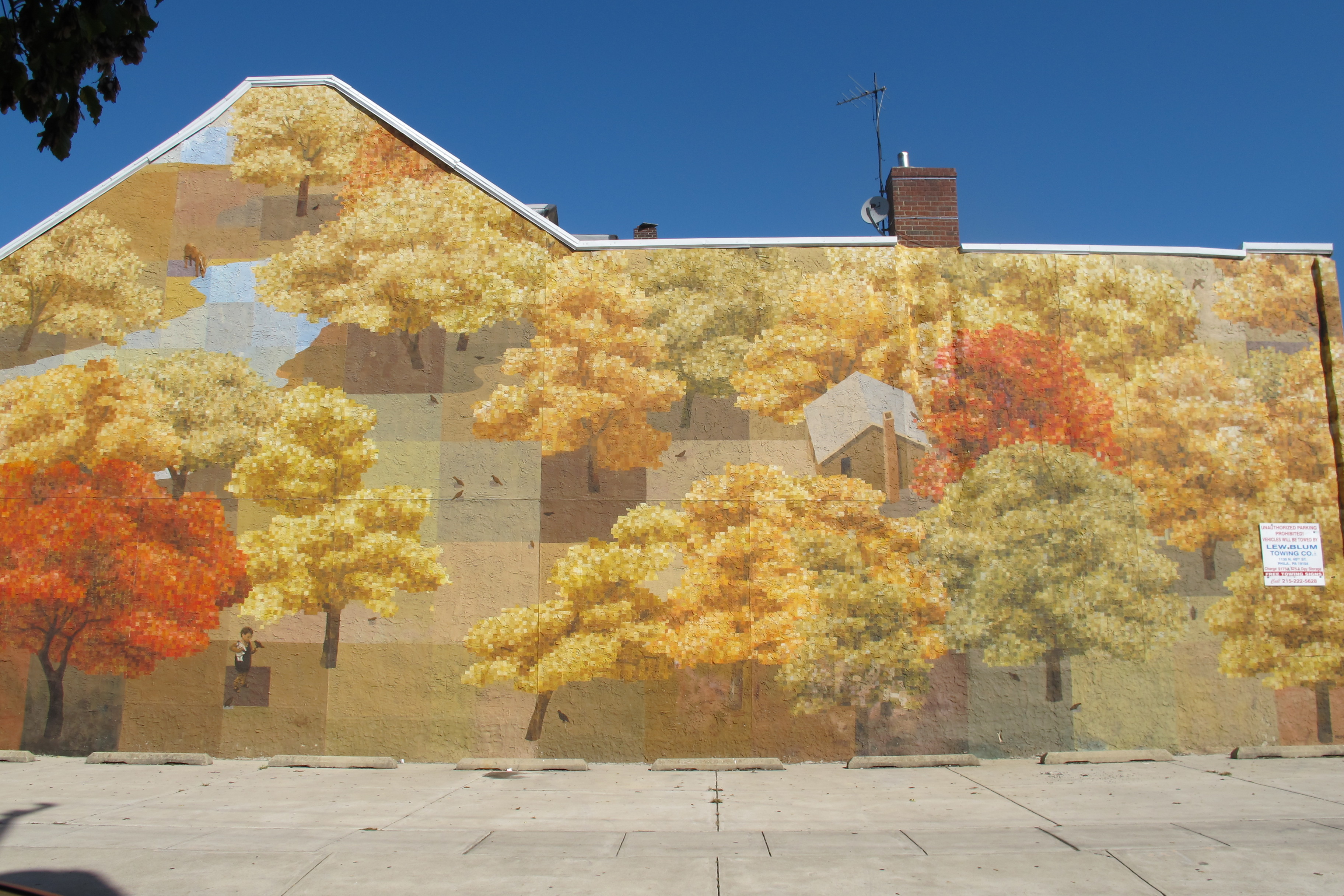 new autumn mural for bella vista