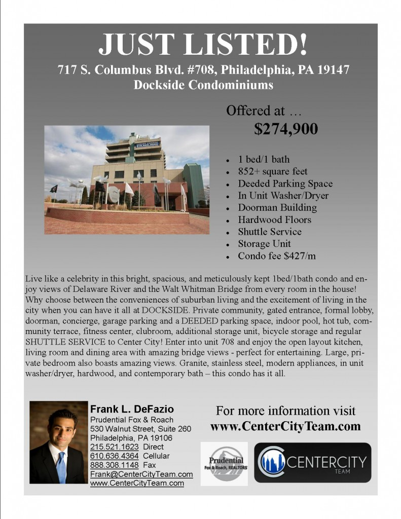 Just Listed - 717 S#708