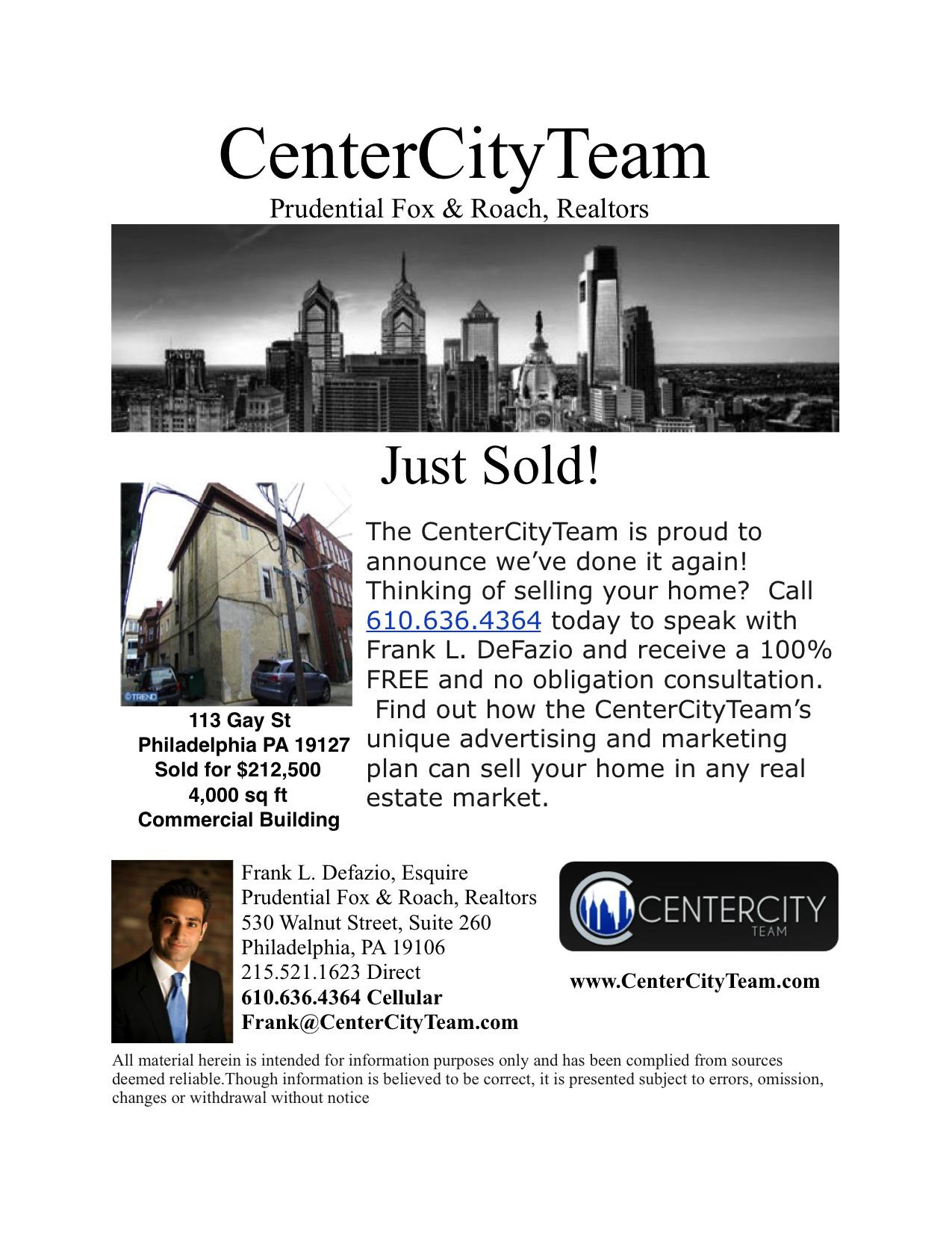 Philadelphia Gay Real Estate Agent Gay Realtor
