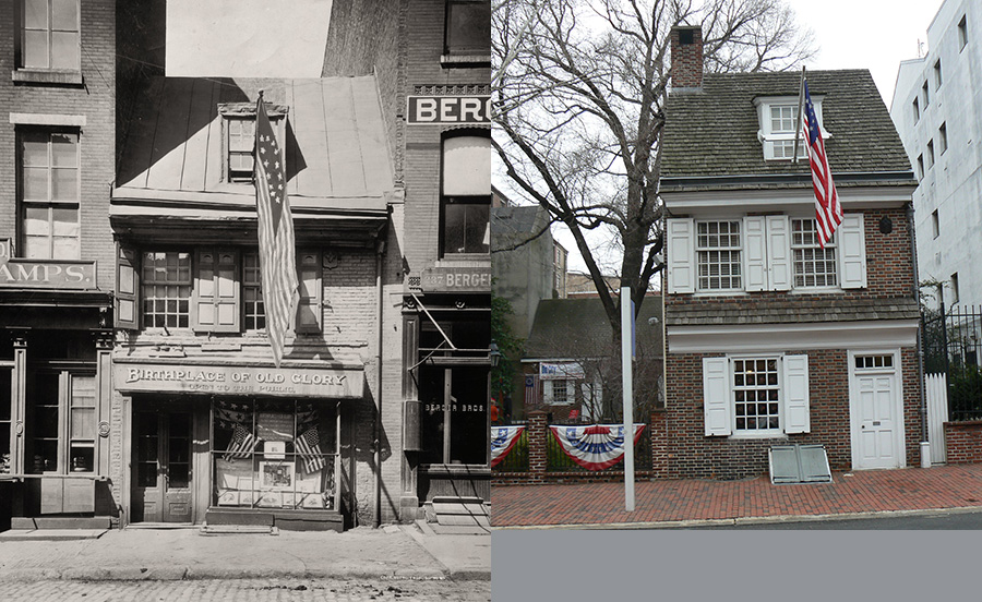 10 Historical Photos Of Philadelphia Then And Now